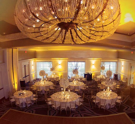 Elegant White Wedding at Hyatt Regency Coral Gables, FL