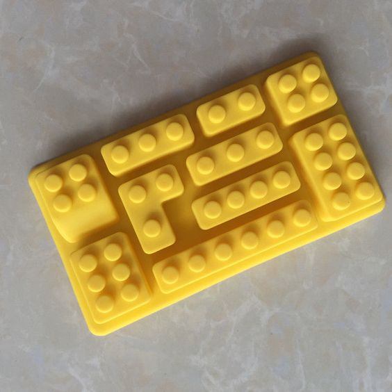Children Building Blocks Shape Silicone Cake Mold Chocolate Mold Diy Baking Mold