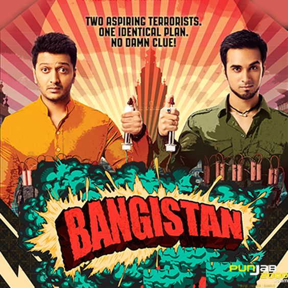 On the surface, Bangistan, starring Riteish Deshmukh and Pulkit Samrat, is a comedy about two blundering terrorists on a mission to change the world. But at its core, it is all about the 'Bromance'.
