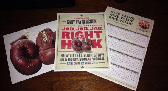 I got my FREE Gary Vaynerchuk Jab, Jab, Jab, Right Hook swag from Walls360! Can't wait to read the new book! #jjjrh #garyvee #walls360 #garyvaynerchuk