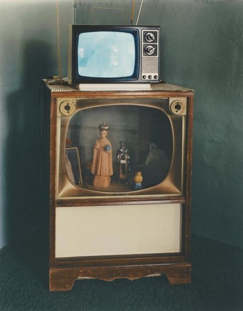 kill your television | Abelino's Mother's House, Las Vegas, New Mexico. Negative, January 1984; print 1993.Alex Harris, photographer.: