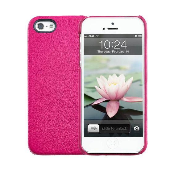 Graphic Image   iPhone 5 Hard-Shell Case   Brights Leather