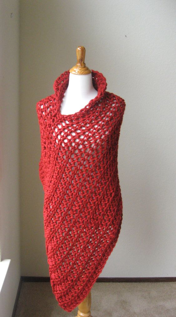 Ponchos, Boho chic and Hand crochet on Pinterest