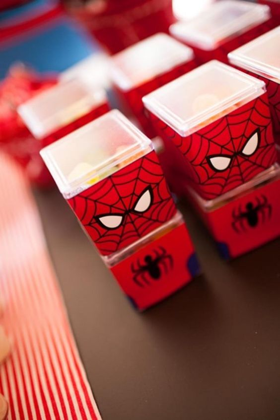 Idea 7 de cumple Spiderman by MundoMab