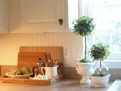 DIY Home Decor :Making Topiaries