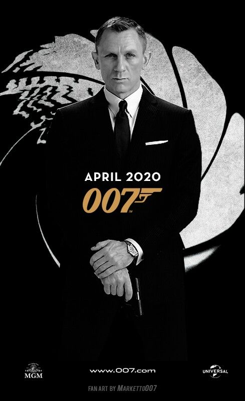 One Last Time Mr Bond In 2020 James Bond Movie Posters