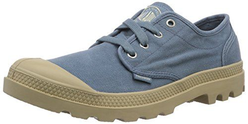 Palladium PAMPA OXFORD, Herren Sneakers, Blau (NORDIC BLUE/PUTTY 475), 41 EU (7 Herren UK) - http://uhr.haus/palladium/41-eu-palladium-pampa-oxford-herren-sneakers-41-eu-2
