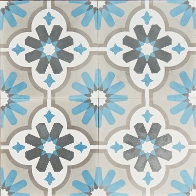 Moroccan Flower New Reproduction