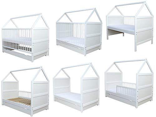 Ein Hausbett Mit Rausfallschutz Bietet Eine Absturzsicherung Fur Dein Kind Gerade Kleine Kinder Sollten In Einem Haus Kinderbe Babybett Kinder Bett Kinderbett