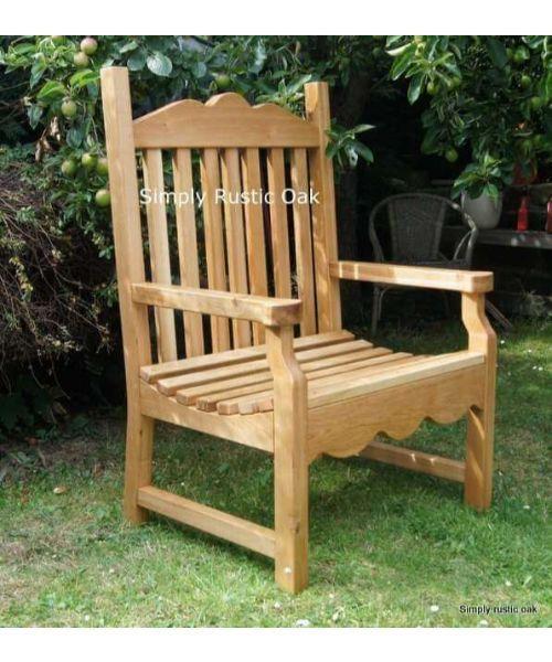 Rustic Oak Beam Garden Table Garden Table Oak Garden Furniture Garden Chairs
