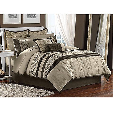 Tuscany 12-Piece Comforter Set Bedding ideas Pinterest Warm