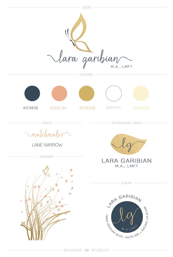 Business Branding Essentials Kit  This color palette, too - TF
