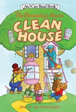 The Berenstain Bears Clean House (I Can Read Book 1 Series)