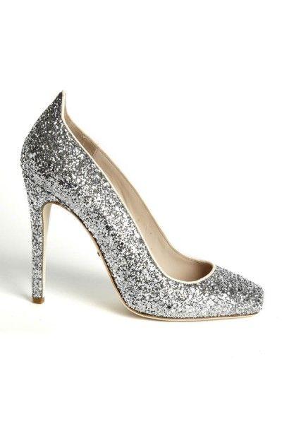 pretty glitter shoes