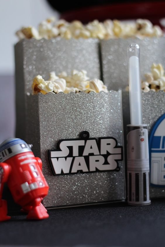 Decoración para una Movie Party Star Wars | Ideas para Decoracion