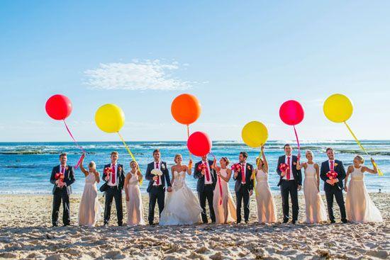 Anelise & Brad's Balloon Filled Wedding