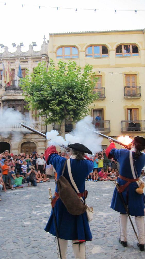 Plaça de la Vila de Bocairent (València) - 2013 - [Guerra de Successió 1707]