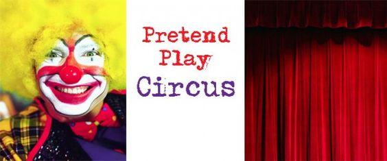 pretend play circus: Activities For Kids, Kids Stuff, Kids Pretend, Circus Pretend, Kiddo Ideas, Pretendplay Circus, Kids Science, Circus Preschool