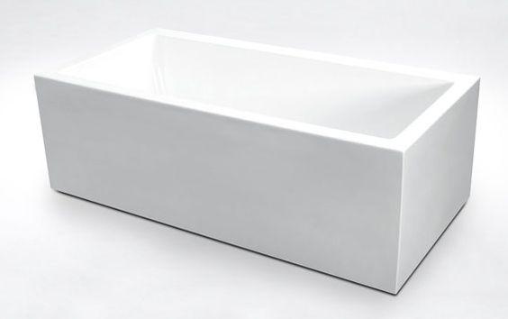 Piazza Freestanding Bathtub 1500mm White 1500mm Freestanding Free Standing Bath Tub Bathroom Accessories Free Standing Bath