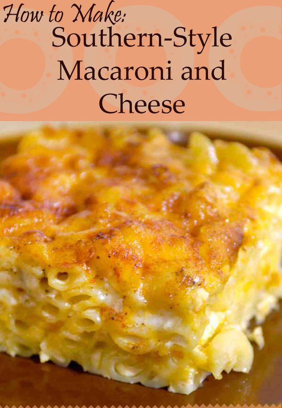 Southern Baked Macaroni and Cheese | Recipe | Homemade ...