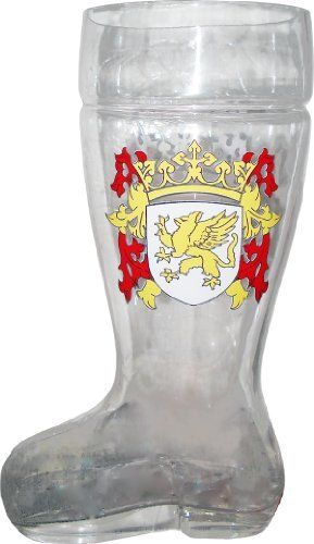 Glass Das Boot Beer Mug http://kitchencraftzone.co.uk/boot-beer-mug/ #das boot #boot beer mug
