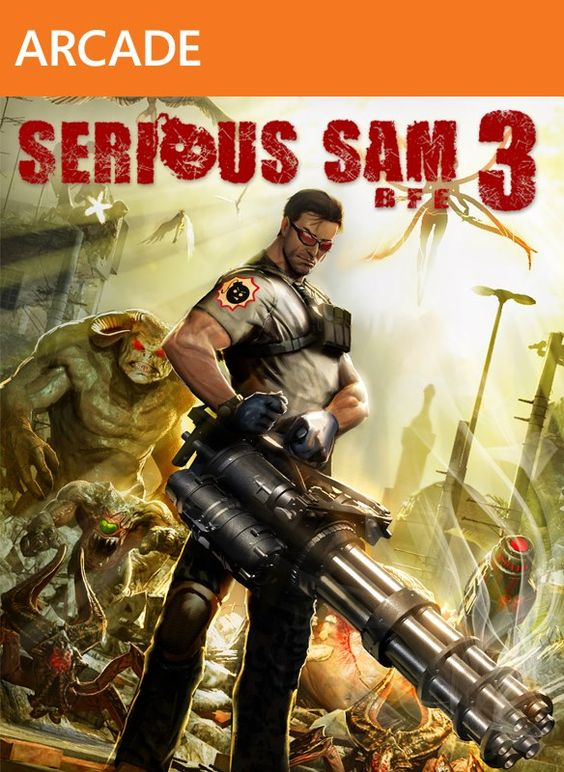 Serious Sam 3 explodes onto Xbox Live!