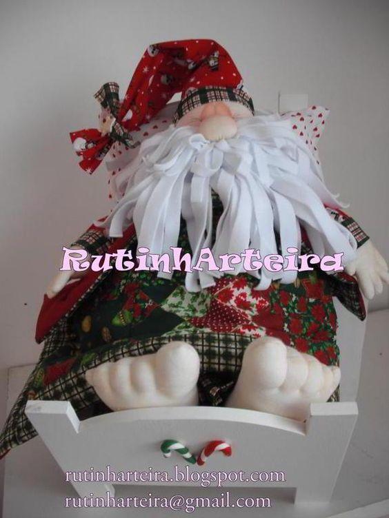Mu ecos de navidad con moldes buscar con google - Munecos de navidad ...