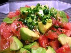メチャ美味しいアボカドのサラダの画像