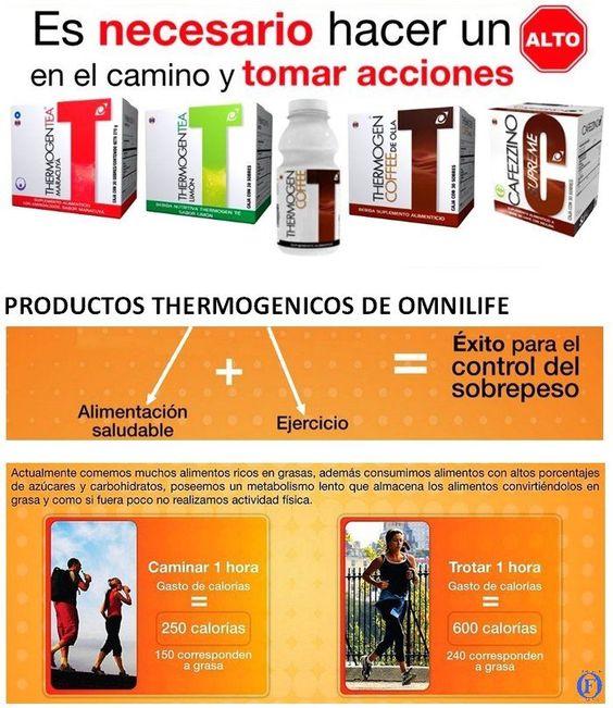 Productos Thermogenicos de OMNILIFE Consulta nuestro catalogo --> http://www.omnilife.com/argentina/catalogo/