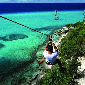 Cabo San Lucas: Baja this is a dream of mine. I love zip lining!