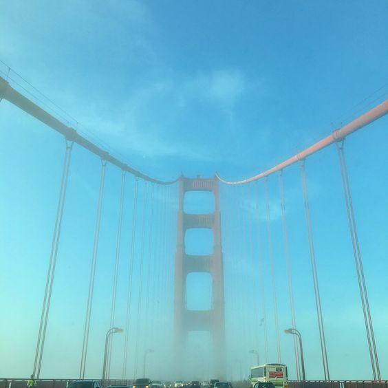 Golden Gate Bridge  California ❤️