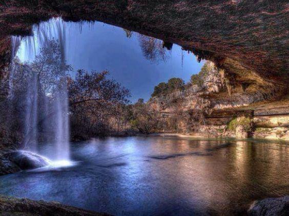 Reserva natural de Hamilton Pool - Texas