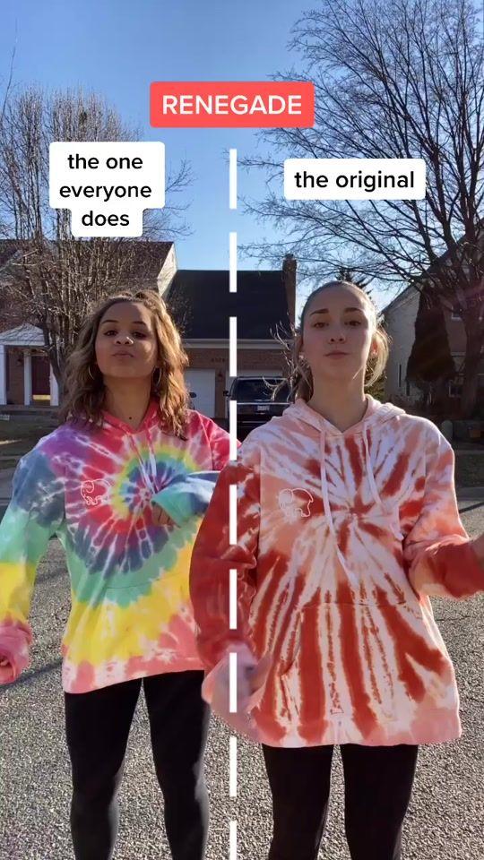 Katie Feeney Katiefeeneyy On Tiktok Which Renegade Do You Prefer Jazzi Groom Dance Creds Dance Videos Dance Choreography Videos Dance Choreography