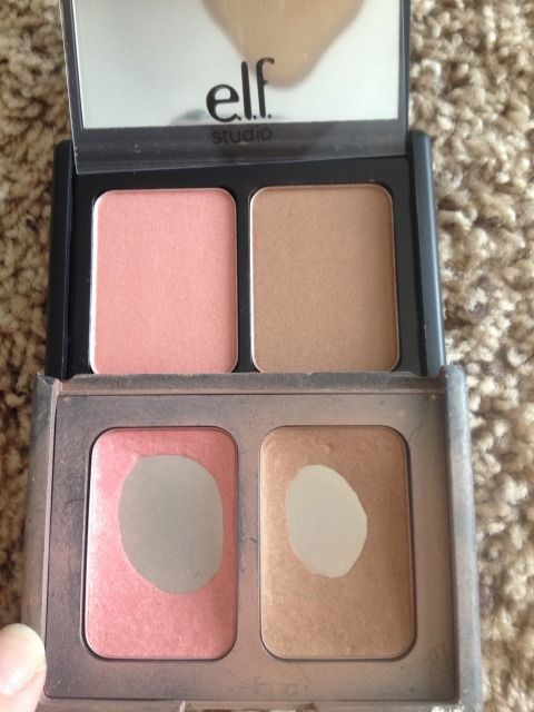 E.l.f. St. Lucia is a perfect dupe for Nars Orgasm / Laguna combo...TRUTH. I use this every day and it's only a few bucks!
