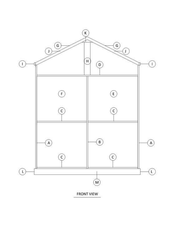 Doll House Plans for American Girl or inch dolls   Room   NOT    American Girl Doll or inch doll House Plans