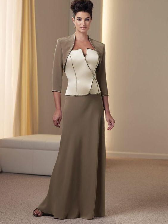 Formal dress for grandmother of bride mother of the for Wedding dresses for grandmother of the bride