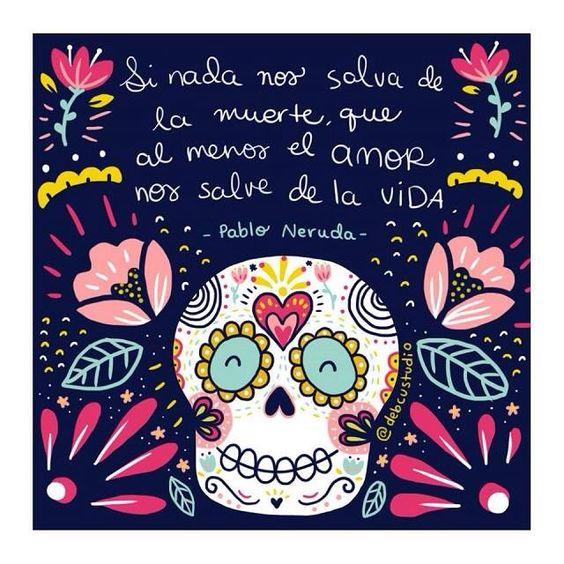 Si nada nos salva de la muerte, que al menos el amor nos salve de la vida. ♡: