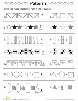 Printables Geometric Patterns Worksheet geometric patterns what comes next plays geometry worksheets second grade next