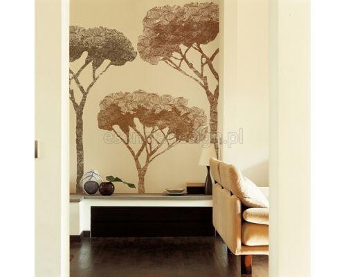 Piękna drzewa niczym kadr z filmu. Ekskluzywne tapety http://esencjadesign.pl/wall-deco-big-brand-11/568-decameron.html