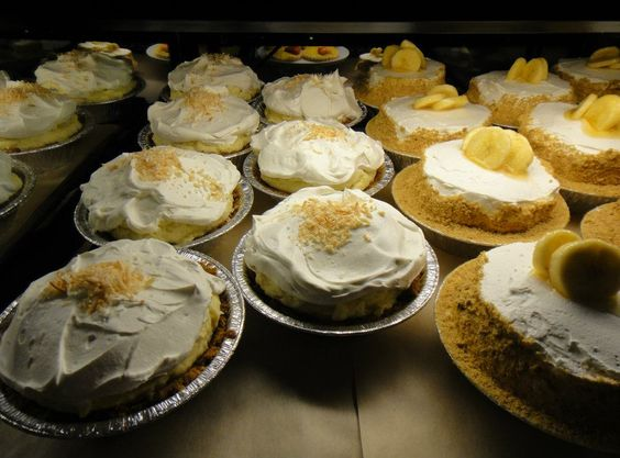 more pie shop banana cream pies banana cream coconut cream cream pies ...