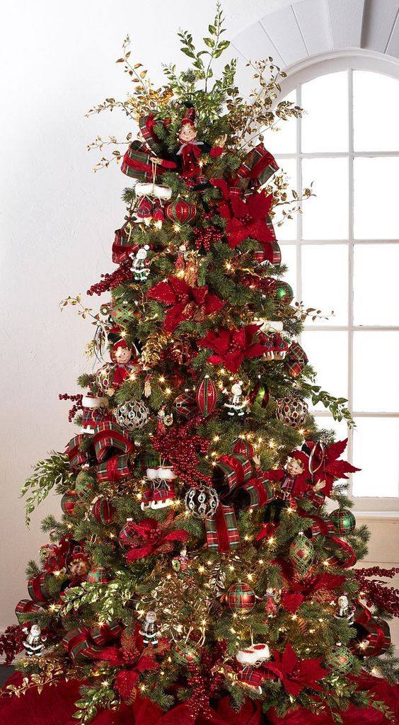 Beautiful Decorated Christmas Tree Http Picturingimages