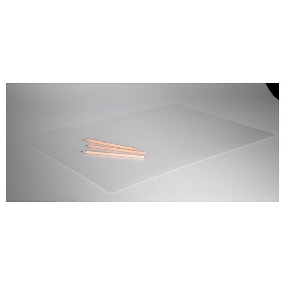 pr js desk pad clear desk pad desk cover and metals. Black Bedroom Furniture Sets. Home Design Ideas