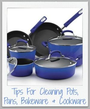 Pinterest the world s catalog of ideas - Clean burnt grease oven pots pans ...