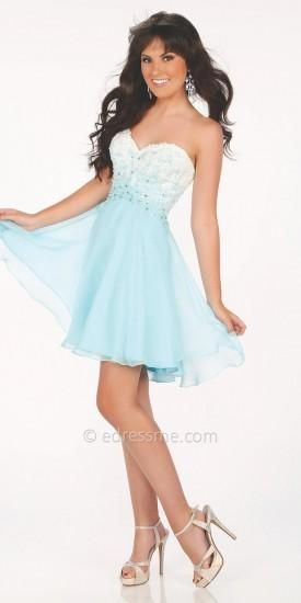 Sienna Prom Dress by Mon Cheri Shorts  #dress #dresses #prom #fashion #designer #moncheri #moncherishorts #edressme