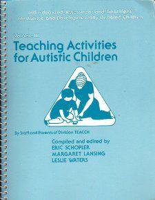 Teaching Activities for Autistic Children (book) $163.00