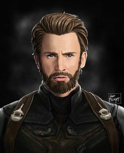 Steve Rogers In Avengers Infinity War Marvel Captain America