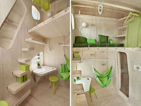 Czy da się wygodnie mieszkać na tak małej przestrzeni? Zobaczcie jak wygląda 'idealny' dom dla studenta.