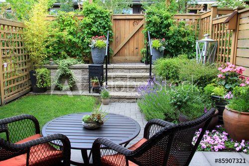 Small Garden In 2021 Backyard, How To Make Small Garden Furniture