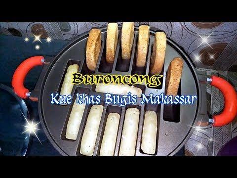Resep Kue Buroncong Khas Bugis Makassar Youtube Resep Kue Resep Kue