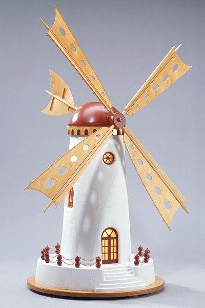 """Selbst ist der Mann - Bauplan 4/2002 """"Friesische Windmühle"""""""